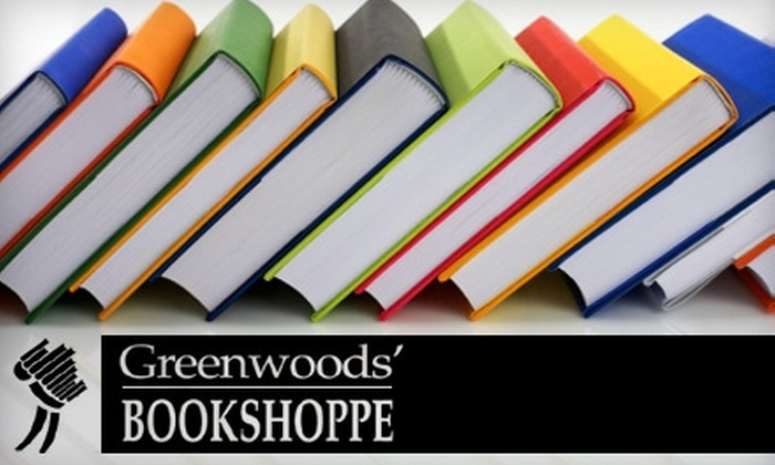 Greenwoods' Bookshoppe - Queen Alexandra: $15 for $30 Worth of Books at Greenwoods' Bookshoppe