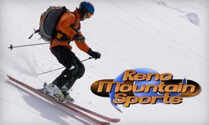 Reno Mountain Sports - Reno: $25 for a Ski or Snowboard Tune-Up Plus a Pair of Spyder Ski Socks from Reno Mountain Sports