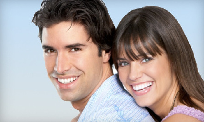 NuYu Teeth Whitening - Multiple Locations: $79 for Treatment at NuYu Teeth Whitening at Salons of Volterra in Keller ($199 Value)