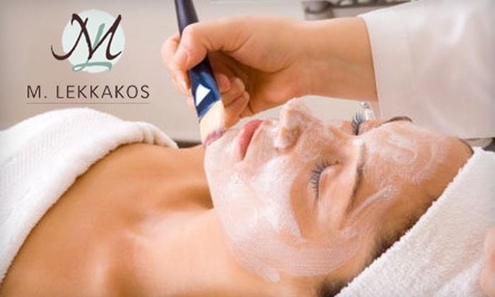 M. Lekkakos - Wenham: Spa Services at M. Lekkakos. Choose From Two Options.