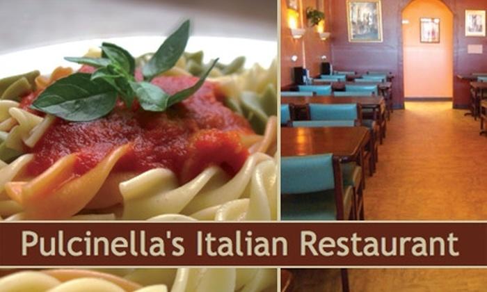 Pulcinella's Italian Restaurant - North Hills: $8 for $20 Worth of Pasta, Pizza, and Drinks at Pulcinella's Restaurant
