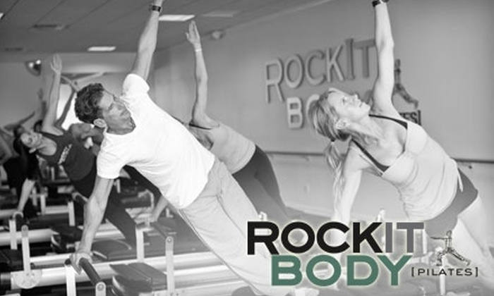 RockIt Body Pilates - Multiple Locations: $15 for One Class at RockIt Body Pilates ($39 Value)