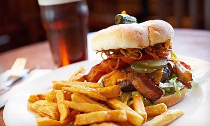 The Fieldhouse Pub - Fairfield: $10 for $20 Worth of Pub Fare and Drinks, Plus a Pitcher of Domestic Beer at The Fieldhouse Pub in Fairfield ($29 Value)