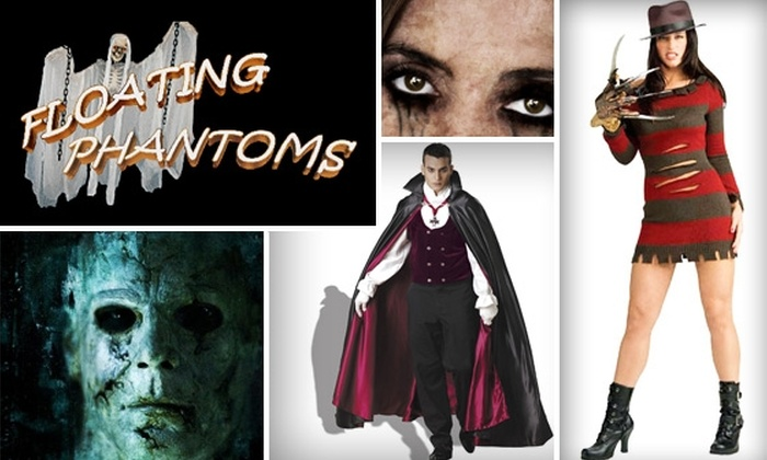 Floating Phantoms  - Stonebriar Mall At The Bridges: $25 for $50 Worth of Halloween Garb at Floating Phantoms
