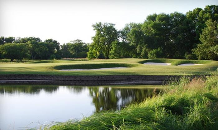 Arrowhead Golf Club - Wheaton: $85 for Two 18-Hole Rounds of Golf with Riding Cart Rental and Two Large Buckets of Practice Balls at Arrowhead Golf Club in Wheaton (Up to $174 Value)