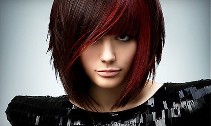 Stylist A Salon - Plainfield: Haircut Package with All-Over Color or Smoothing-Treatment Package at Stylist A Salon in Plainfield (Up to 63% Off)