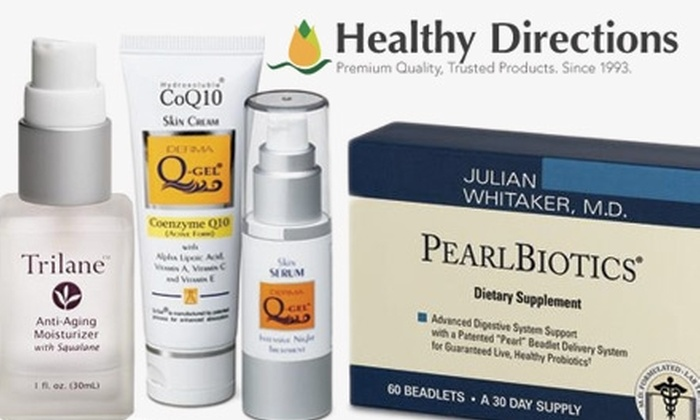 Healthy Directions - Boston: $20 for $50 Worth of Healthful Products from Healthy Directions