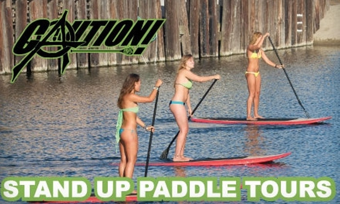 Caution Santa Cruz - Eastside: $39 for Two-Hour Paddleboard Lesson and Demo from Caution Santa Cruz