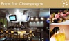 Pops for Champagne - Near North Side: $20 for $40 Worth of Sparkling Champagne and Food at Pops for Champagne