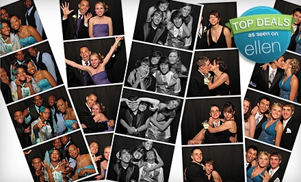 2-Hour Photo-Booth Rental (a $1,126 value, including tax) - The Little Black Booth in