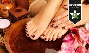 Beauty Lounge MJ Kosmetikstudio: Pediküre inklusive Shellack im Beauty Lounge MJ Kosmetikstudio