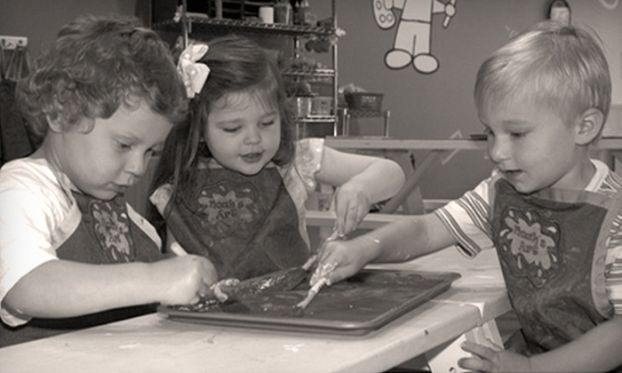 Noah's Art - Springfield: $40 for Five Weeks of Children's Art Classes at Noah's Art (Up to $95 Value)