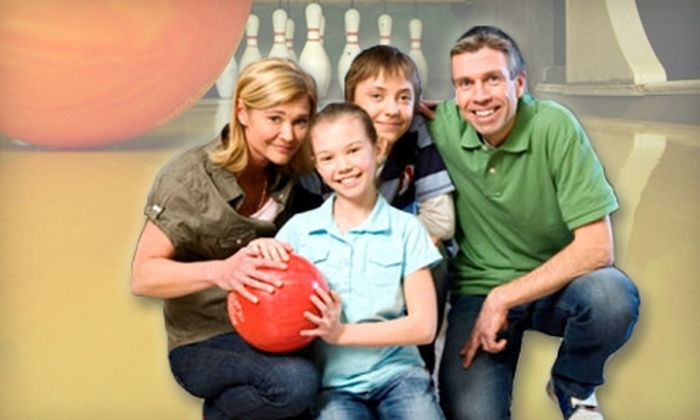 Homestead Lanes - Cupertino: $18 for Two Games and Shoe Rental for Three People at Homestead Lanes in Cupertino (Up to $41.25 Value)