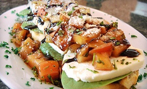 Nicolino's Trackside: Italian-Inspired Food and Drinks at Nicolino's Trackside (Half Off). Two Options Available