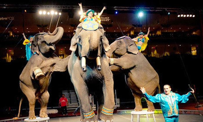 Shrine Circus - Frisco Dr Pepper StarCenter: Shrine Circus at Dr Pepper Arena on March 7–10 (Up to 49% Off). 10 Options Available.