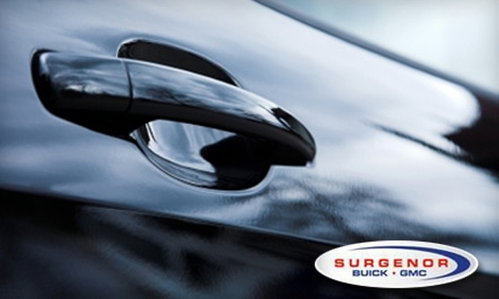 Surgenor Buick GMC - Overbrook West - McArthur: $25 for $50 Worth of Automotive Services or $50 for $100 Worth of Automotive Services at Surgenor Buick GMC. Choose Between Two Options.