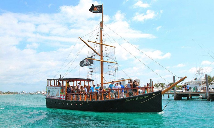 Black Sparrow Pirates - Riviera Beach: Pirate Tour for Two or for Four with Pirate Packs from Black Sparrow Pirates (Up to 38% Off)