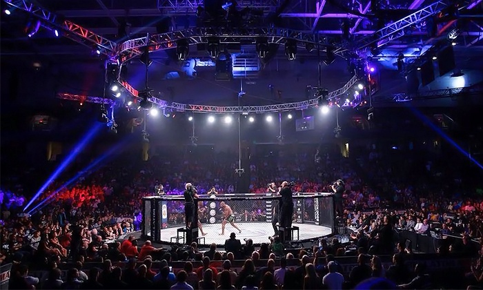 Bellator MMA 129 - Mid-America Center: $50 for Four Tickets to Bellator MMA 129 at Mid-America Center on Friday, October 17, at 6 p.m. ($80 Value)