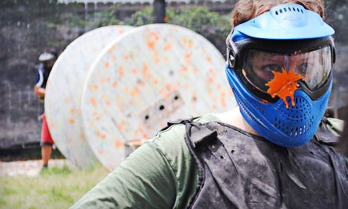 Urban War Zone Paintball - Houston: Paintball Outing with Gear Rental, Air, and Paintballs for 2, 4, or 10 at Urban War Zone Paintball (Up to 73% Off)