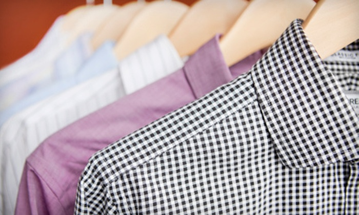 Clean My Clothes - South Side: Laundry Service or Dry Cleaning at Clean My Clothes (Up to 67% Off). Three Options Available.