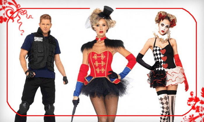 Vampire Disco: High-End Adult Halloween Costumes from Vampire Disco (Up to Half Off). Two Options Available.