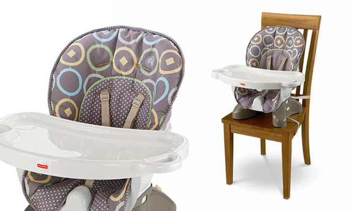 fd80db23c3cca Fisher-Price SpaceSaver High Chair Luminosity