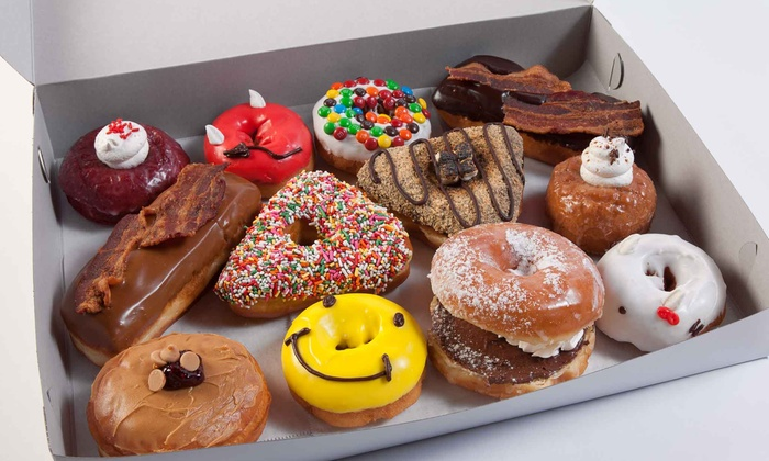 Devilicious Donuts - Multiple Locations: $19 for One Dozen Premium Donuts at Devilicious Donuts ($42 Value)