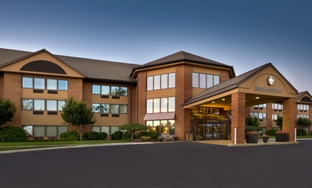 Stay with Dining Credit at Inn at Saint Mary's Hotel and Suites in South Bend, IN. Dates Available into April.