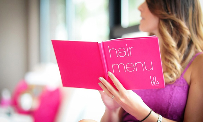 Blo Blow Dry Bar - Gaslamp: Blowout with Optional Manicure at Blo Blow Dry Bar (Up to 38% Off)