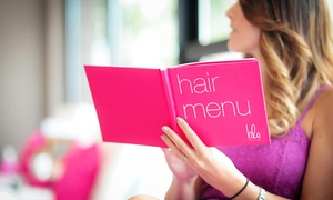 Blo Blow Dry Bar: Blowout with Optional Manicure at Blo Blow Dry Bar (Up to 38% Off)