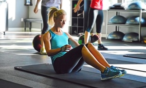 The Fit CORPS: One Month of Unlimited Fitness Classes for One, Two, or Four at The Fit Corps (Up to 77% Off)