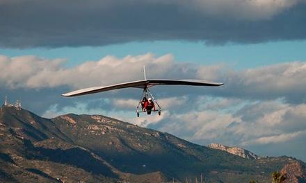 Vuelo tándem en ala delta para 1 o 2 personas desde 39,90 € en Sky Gliding