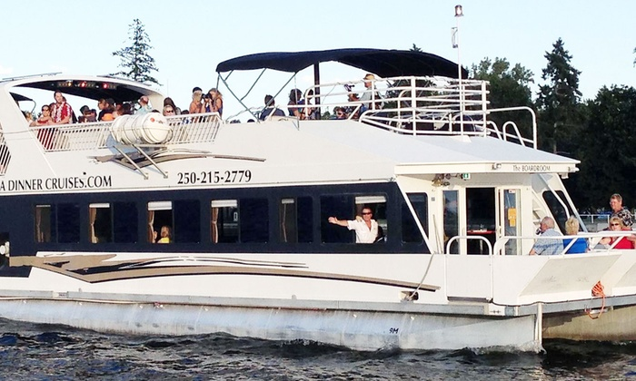 Kelowna Cruises - Kelowna Cruises: C$50 for Two Tickets to a Public Dinner Cruise Sightseeing from Kelowna Cruises (C$80 Value)