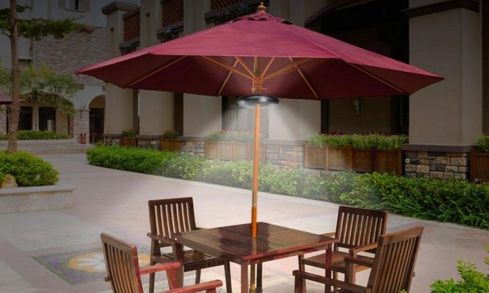 lumi re pour parasol groupon shopping. Black Bedroom Furniture Sets. Home Design Ideas