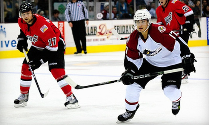 Lake Erie Monsters  - Industrial Valley: Lake Erie Monsters Hockey at Quicken Loans Arena on April 6 or 7 (Up to 52% Off). Four Options Available.