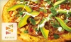 zpizza - West Village: $10 for $20 Worth of Gourmet Pizza and More at zpizza