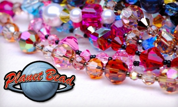 Planet Bead - Hillsboro: $20 for $40 Worth of Beading and Jewelry Supplies at Planet Bead in Hillsboro