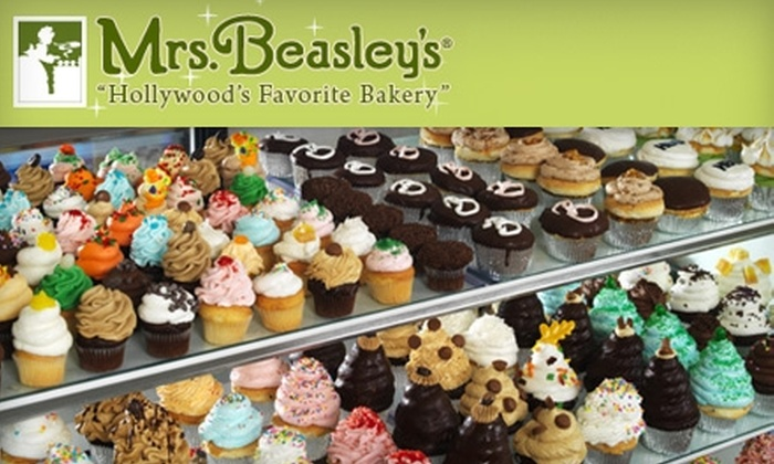 Mrs. Beasley's - Multiple Locations: $18 for a Dozen Cupcakes at Mrs. Beasley's (Up to $42 Value)