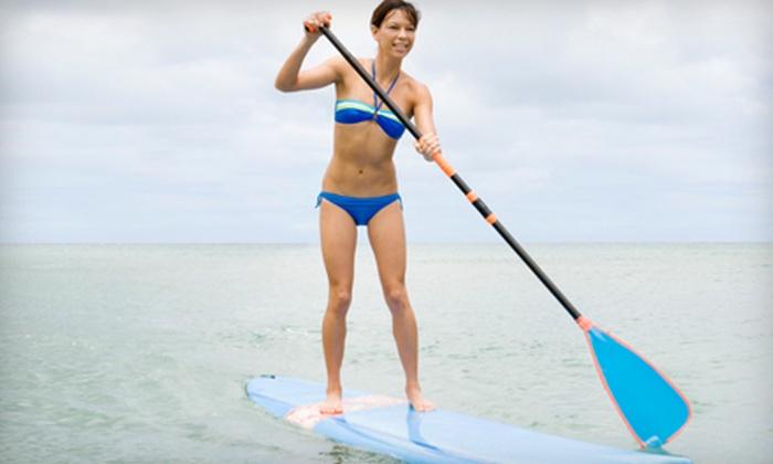 Aquaholics - Portland, ME: Standup-Paddleboarding Tour or Workout at Aquaholics in Kennebunk