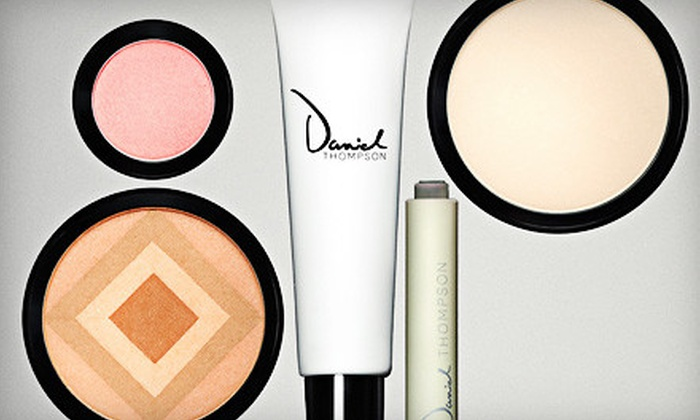 Daniel Thompson Beauty: $89 for Creative Colour Compact With Bronzer, Blush, Eye Shadow, and Brush from Daniel Thompson Beauty ($300.50 Value)