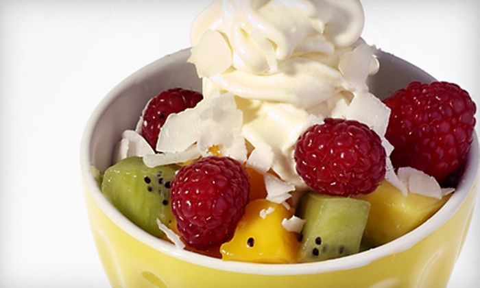 Yogizmo - Multiple Locations: Frozen Yogurt and Desserts or Reloadable Card at Yogizmo.