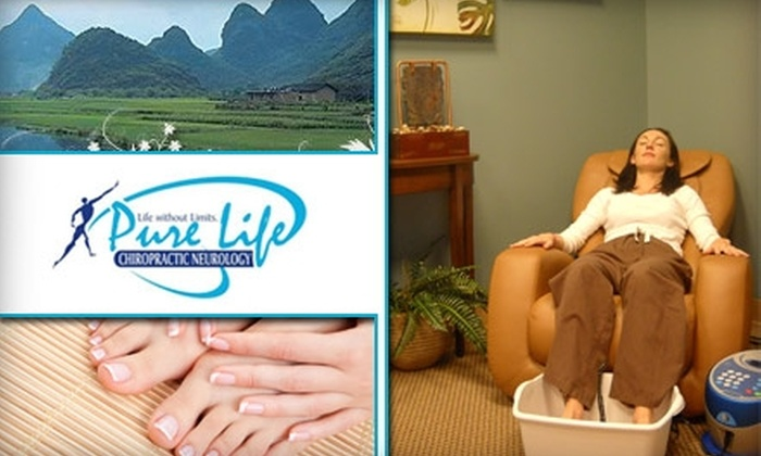 Pure Life Chiropractic Neurology - West Lake Hills: $49 for Four Detox Sessions With Ion Therapy at Pure Life Chiropractic Neurology ($180 Value)