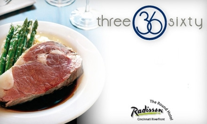 360 - Covington: $25 for $50 Worth of Sophisticated Cuisine at 360