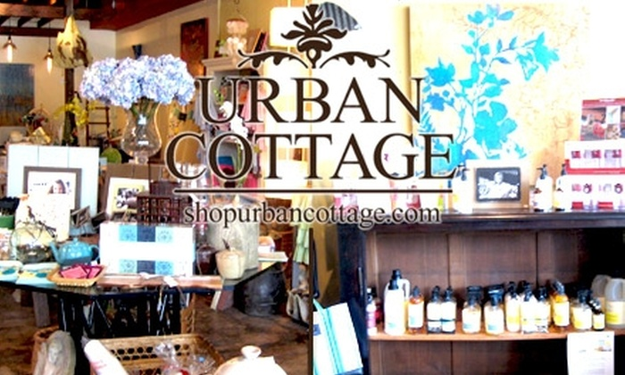 Urban Cottage - Crestwood North: $25 for $50 of Upscale Home Décor and Gifts from Urban Cottage