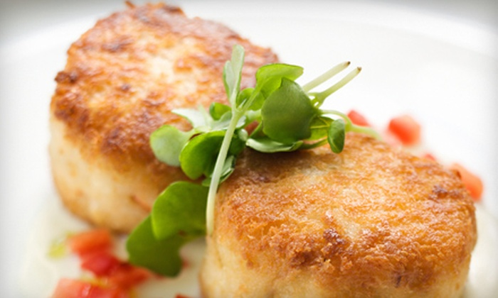 Wild Duck Cafe - Bowleys Quarters: Seafood Dinner for Two or Four at Wild Duck Cafe