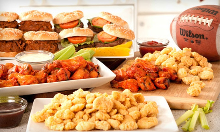 Football Party Platter: $49 for an All-American Party Platter from Groupon Goods ($129 Value). Shipping Included.