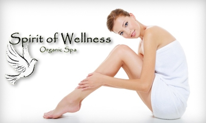 Spirit of Wellness Organic Spa - Grafton: $35 for 60-Minute Organic Signature Facial (Up to $70 Value) or $25 for Classic Mani-Pedi (Up to $50 Value) at Spirit of Wellness Organic Spa