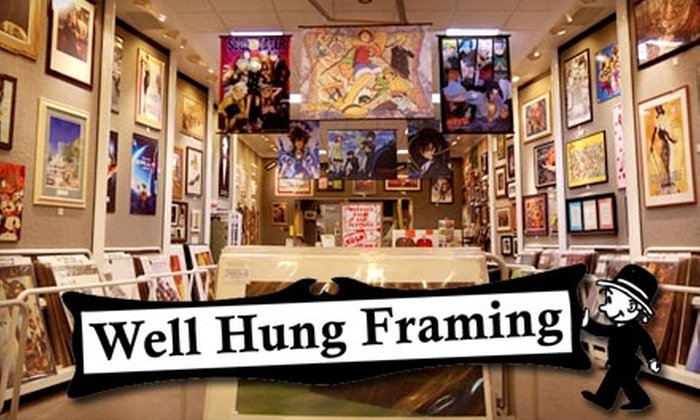 Well Hung Framing - West Valley City: $39 for $100 Worth of Framing Services at Well Hung Framing