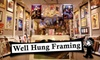 61% Off at Well Hung Framing in West Valley City