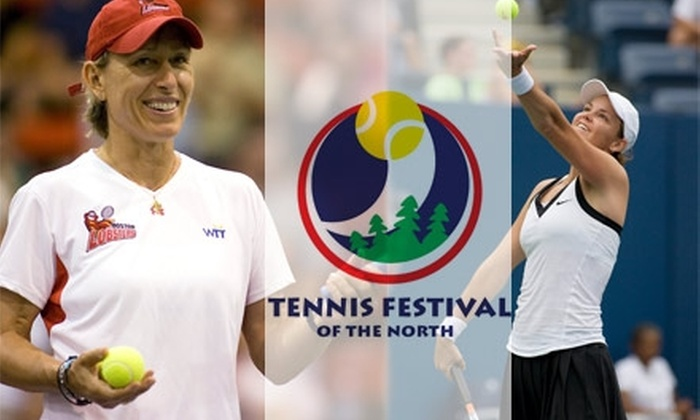 Tennis Festival of the North - Eden Prairie: $40 for One All-Inclusive Pass to the Tennis Festival of the North from Friday, April 9, to Sunday, April 11
